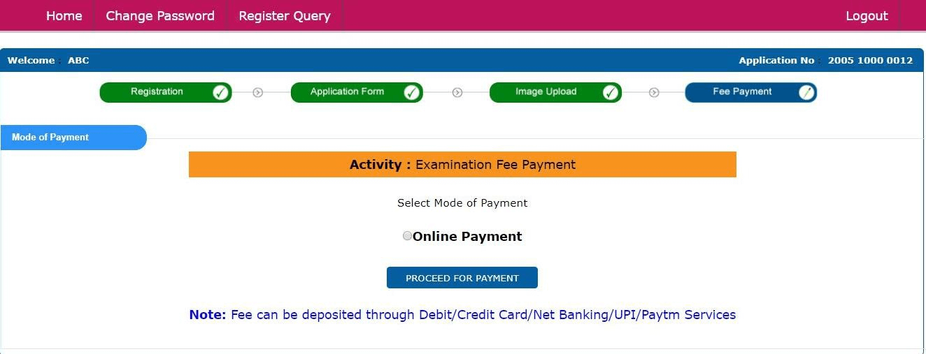 ugc net june 2020 fee payment details