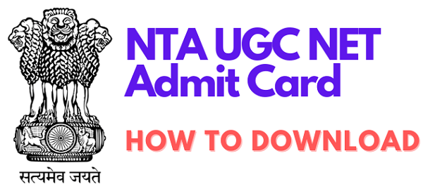 download ugc net admit card